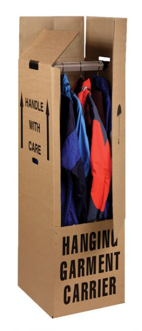 wardrobe boxes for hanging clothes storage